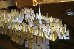 Padiglione degli Emirati Arabi Uniti all'Expo 2015 in Milan Italy Fotografia Stock Libera da Diritti
