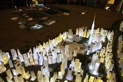 Padiglione degli Emirati Arabi Uniti all'Expo 2015 in Milan Italy Fotografia Stock