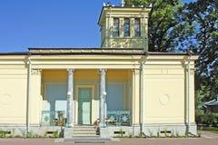 Padiglione del Czarina in Peterhof Fotografia Stock