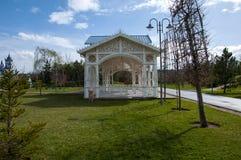 Padiglione del giardino immagini stock libere da diritti