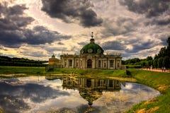 Padiglione del Grotto in Kuskovo Fotografia Stock