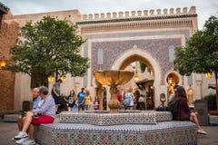 Padiglione del Marocco a Epcot Fotografia Stock Libera da Diritti