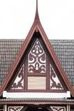 Padiglione del timpano del tetto Fotografie Stock