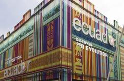 Padiglione dell'Ecuador all'Expo 2015 Fotografie Stock