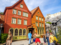Padiglione della Norvegia, vetrina del mondo, Epcot Fotografia Stock