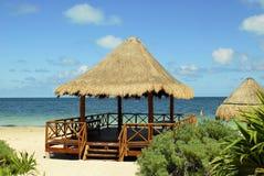 Padiglione della spiaggia Immagine Stock Libera da Diritti