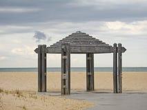 Padiglione della spiaggia Fotografie Stock Libere da Diritti