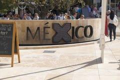 Padiglione 2015 di Milano Italia Messico dell'Expo Fotografia Stock