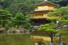 Padiglione dorato a Kyoto Fotografia Stock