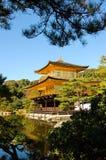Padiglione dorato a Kyoto, Giappone Fotografia Stock Libera da Diritti