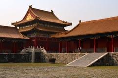 Padiglione, la Città proibita, Pechino, Cina Immagine Stock Libera da Diritti