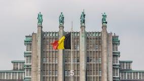 Padiglione nessun 5 dell'Expo di Bruxelles Fotografia Stock Libera da Diritti