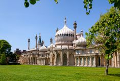 Padiglione reale Brighton East Sussex Southern England Regno Unito immagine stock libera da diritti