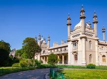Padiglione reale Brighton East Sussex Southern England Regno Unito fotografia stock libera da diritti