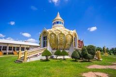 Padiglione (soldi) del padre santo della BO del pipistrello Wat Yang Khoi Kluea a Phichit Tailandia immagine stock