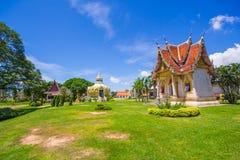 Padiglione (soldi) del padre santo della BO del pipistrello Wat Yang Khoi Kluea a Phichit Tailandia fotografia stock