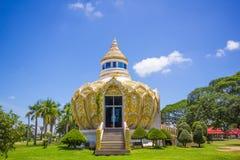 Padiglione (soldi) del padre santo della BO del pipistrello Wat Yang Khoi Kluea a Phichit Tailandia immagini stock