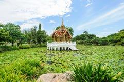 Padiglione tailandese antico Fotografia Stock Libera da Diritti
