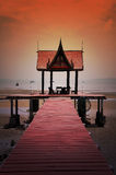 Padiglione tailandese di stile Fotografie Stock