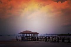 Padiglione tailandese di stile Fotografia Stock