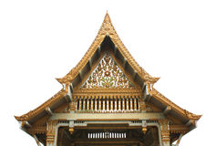 Padiglione tailandese, Wat Sothornwararamworaviharn, Chachoengsao Tailandia Fotografia Stock Libera da Diritti