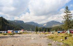Padina Fest Camping Stock Photo