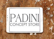 Padini Holdings Berhad company logo. Logo of Padini Holdings Berhad company on samsung tablet. Padini is a Malaysia-based investment holding company. The company Royalty Free Stock Images