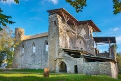 Padise修道院 爱沙尼亚,欧盟 免版税库存照片