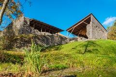Padise修道院 爱沙尼亚,欧盟 免版税库存图片