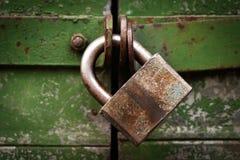 padlock двери Стоковые Изображения