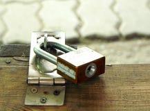 Padlock ключа для всех замков на замке Стоковые Фото