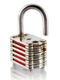 padlock малый стоковые фото