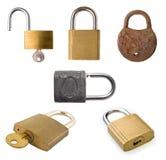 padlock собрания Стоковые Фотографии RF