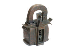 padlock утюга Стоковая Фотография