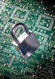 padlock цепи Стоковое Фото