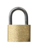 Padlock. Royalty Free Stock Photography
