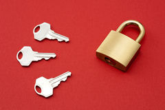Padlock Royalty Free Stock Images