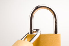 Padlock 3 Royalty Free Stock Photography