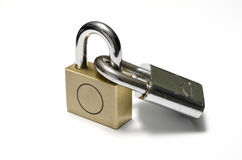 padlock Imágenes de archivo libres de regalías
