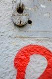 padlock Arkivfoto