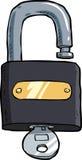 padlock vektor illustrationer
