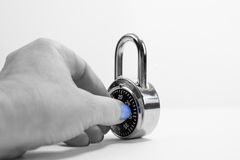 padlock Foto de Stock
