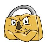 Обеспечьте иллюстрацию 2 padlock Стоковая Фотография