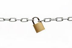 Free Padlock And Chain Royalty Free Stock Images - 39834449