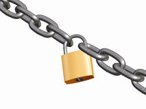 Free Padlock And Chain Stock Images - 686174