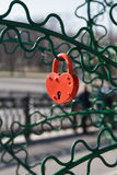 Padlock As Heart Royalty Free Stock Image