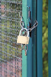 Padlock Chain Royalty Free Stock Image