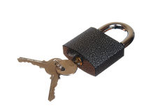 A padlock Royalty Free Stock Photography