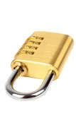 Padlock with combination code Stock Photography