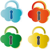 Padlock. Royalty Free Stock Photo